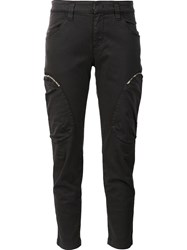 Dorothee Schumacher Cropped Trousers Grey