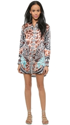 Just Cavalli Oversized Shirtdress