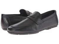 Salvatore Ferragamo Nuevo Penny Loafer Black Men's Slip On Dress Shoes