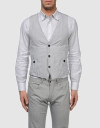 Mario Matteo Vests Light Grey