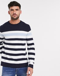 Burton Menswear Jumper In Navy Blue