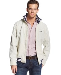 Tommy Hilfiger Regatta Jacket Silver Birch