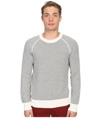 Billy Reid Stripe Crew Sweater Natural