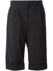 J.W.Anderson J.W. Anderson Tailored Cuffed Shorts Black