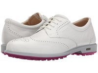 Ecco Classic Golf Hybrid White Women's Golf Shoes