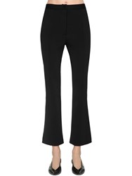 Givenchy Cropped Punto Milano Pants Black