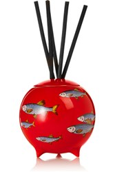 Fornasetti Sardine Rosso Diffusing Sphere Red