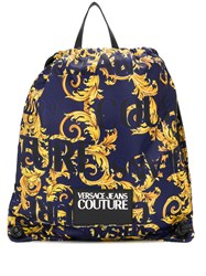 Versace Jeans Couture Baroque Print Backpack 60