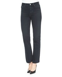 Alexa Chung For Ag Revolution Boot Cut Jeans Sloe Black