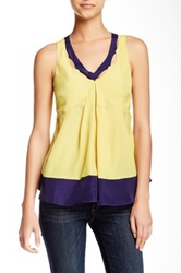 Ryu V Neck Sleeveless Blouse