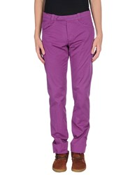 Italia Independent Trousers Casual Trousers Men Purple