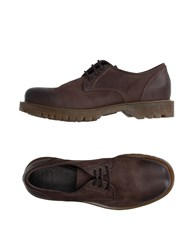 Pantofola D'oro Lace Up Shoes Dark Brown
