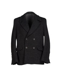 Maestrami Suits And Jackets Blazers Men Steel Grey