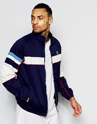 Fila Vintage Jacket With Panelling Peacoat Blue