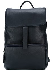 Zanellato Fold Closure Backpack Blue