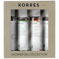 Korres Shower Gel Collection 4 X 40Ml