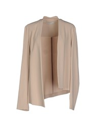 Alysi Suits And Jackets Blazers Women Beige