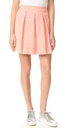 Boutique Moschino Pleated Skirt Pink