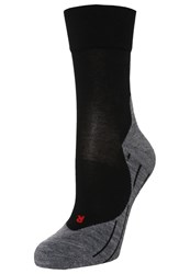 Falke Sports Socks Black Grey