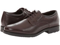 Rockport Essential Details Waterproof Plain Toe Oxford Dark Brown Men's Shoes