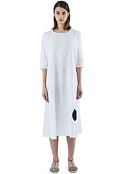 Alexa Stark Oversized Dot Tent Dress White