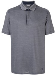 Gieves And Hawkes Classic Polo Shirt Grey