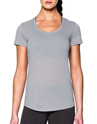 Under Armour Solid Roundneck Tee Grey