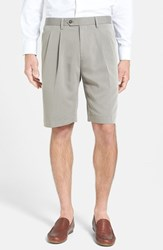 Cutter And Buck Men's Double Pleated Microfiber Twill Shorts