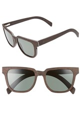 Shwood Prescott 52Mm Polarized Walnut Wood Sunglasses