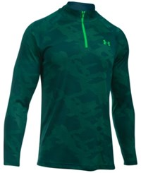 Under Armour Men's Ua Tech Quarter Zip Jacquard Shirt Nvt Nnl Nn