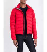 Canada Goose Brookvale Quilted Shell Jacket Red Black