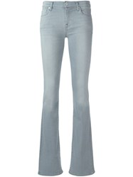 7 For All Mankind Flared Jeans Grey