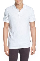 Ag Jeans Men's Ag 'Bryant' Trim Fit Slub Cotton Polo