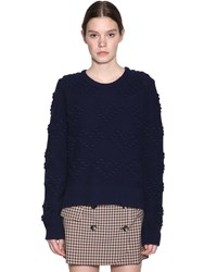 Baum Und Pferdgarten Carrigan Wool Blend Sweater Navy