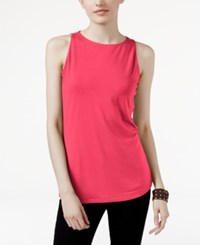 Inc International Concepts Boat Neck Tank Top Only At Macy's Polished Coral