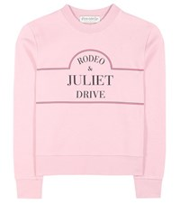 Etre Cecile Rodeo Cotton Sweatshirt Pink