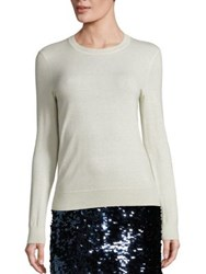 Tory Burch Iberia Cashmere Sweater New Ivory