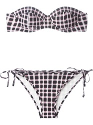 Marc By Marc Jacobs Checked Bikini Multicolour