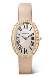 Cartier Baignoire 24.5Mm Small 18 Karat Pink Gold Rose Gold