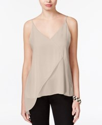 Bar Iii Asymmetrical V Back Top Only At Macy's Ballet Pink