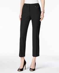 Alfani Petite Skinny Capri Pants Only At Macy's Deep Black