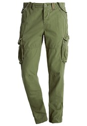 Superdry Core Cargo Trousers Company Green