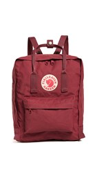 Fjall Raven Fjallraven Kanken Backpack Ox Red