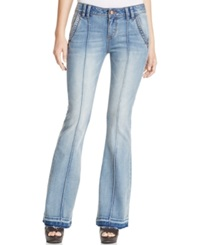 American Rag Retro Seamed Flare Leg Jeans Only At Macy's Varvara Wash