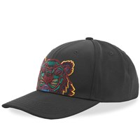 Kenzo Tiger Embroidered Cap Black