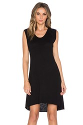Nation Ltd. Heather Tee Dress Black