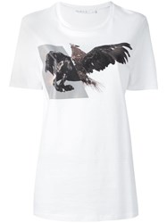 Neil Barrett 'Horse Eagle' T Shirt White