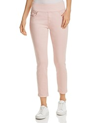 Jag Jeans Nora Pull On Denim Ankle Leggings Conch Shell