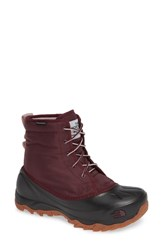 The North Face Tsumoru Waterproof Insulated Snow Boot Fig Burnished Lilac