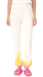 Wildfox Couture Wildfire Easy Sweatpants Vintage Lace